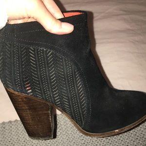 Coach Shoes - Coach black suede booties